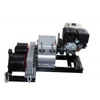 Buy cheap Honda Gasoline Engine Powered Winch 5T With Two Cable Drums For Wire Rope from wholesalers