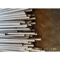 Quality Plain End Stainless Steel Seamless Tubing / Solution Pickled Cold Drawn Tubes for sale