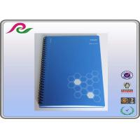 Quality Logo printed Bulk stone paper A5 spiral bound notebooks for school for sale