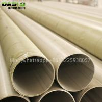 Quality ASTM A312 316L stainless steel seamless welded stainless steel ERW pipe for sale