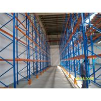Quality Cold Rolled Steel Racking Pallet Rack Shelving , Industrail Storage Solutions for sale