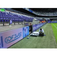 Quality External stadium led display screens , advertising led display screen banner for sale