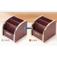 Quality Anti - Collision Wooden Pen Holder  With Easy Assemble / Customized Pen Pot for sale