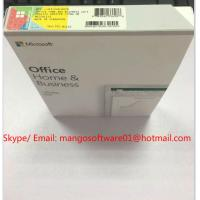 China DVD Retail Box Microsoft Office 2019 Home And Business Coa License 1 Key For 1 PC on sale
