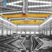 Quality Single Girder Electric Overhead Travelling Crane 3T Capacity Industrial for sale