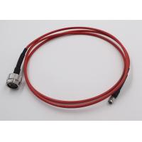 Quality Test Application RF Cable Assembly N Connecotr To SMA Semi Flex Cable for sale