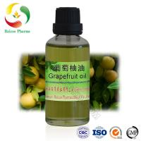 Quality cold pressed grapefruit oil Flavor oil, fragrance oil of Natural and 100% pure for sale