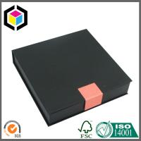 Quality Custom Black Color Cardboard Gift Box; Jewellery Gift Paper Box, Jewellery Cases for sale