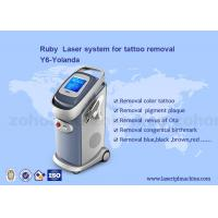 China Permanent Laser Tattoo Removal Birthmark / Eye Line Removal   Machine on sale