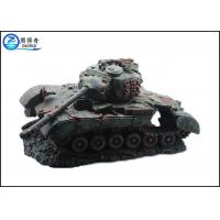China Non-toxic Fish Tank Decorations Artificial with Battle Tank Resin Ornaments on sale