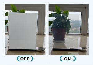 Quality Smart Switchable ISO90001 Electric Fog Glass With Electric Tinting for sale