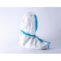 Quality FDA510K Non Sterile Medical Use Disposable Isolation Shoe Cover Mid Low Leg for sale