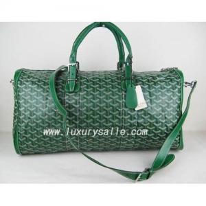 Quality Free shipping green Goyard Croisiere handbag for sale