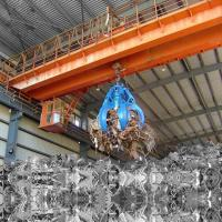 Quality Garbage Double Girder Eot Crane With Grab A7 Working Class 22M Max Lifting for sale