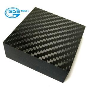 Quality GDE carbon custom carbon fiber sheet/board for car using for sale