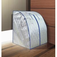 Quality saunalux Portable infrared sauna JYS-B5 silver colour with remote control for sale