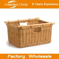 Quality Wholesal 100% nature handcraft rattan bassinet wicker baby basket-Food Save Natural Wicker Bread Basket for sale