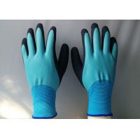Quality Wear Resistant Nylon Nitrile Coated Gloves 35 - 120 G / Pair CE Approved for sale