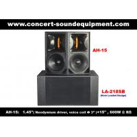 Quality 600W Line Array Speaker , 1.4 + 15 Full Range Speaker For Concert , Living Event And Fixed Installation for sale