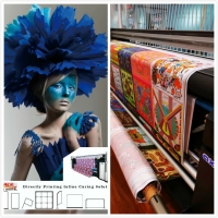 Buy cheap Fabric Flag Banner Printing Machine Digital Textile Sublimation Printer With Ink from wholesalers