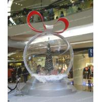 Quality BA(41) plastic clear snow dome for sale