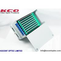 Buy cheap 96 Core Rack Mount Fiber Optic Patch Panel Terminal Box ODF Unit / 96fo Steel from wholesalers