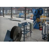 Quality Concertina Razor Wire Making Machine , Heavy Duty Fencing Manufacturing Machine for sale
