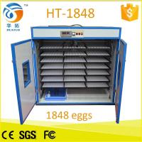 Quality Monthy top selling 1848 egg incubator poultry machine HT-1848 for sale