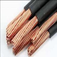 Quality UL Cable ROHS PVC Double Insulation 7AWG 600V UL1283 105℃ Electrical Wire in Black color for sale