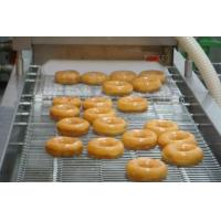 12000 Pcs / Hr Industrial Donut Making Machine With Customized Hexagon Cutter