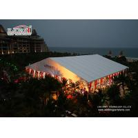 Quality Outdoor Luxury White Wedding Tent Decoration for Banquet Party for sale