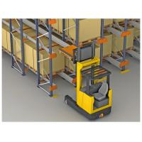 Quality high efficiency storage Radio Shuttle Racking with machines working for sale