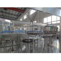 China Automatic Beverage Filling Machine , Electric Driven  Soda Filling Line on sale