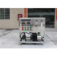 Quality 100LPH Brackish Water Treatment Plant High Pressure Reverse Osmosis System for sale