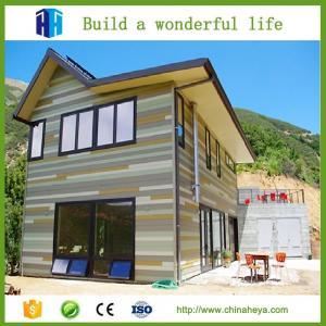 China HEYA superior quality steel structure luxury elegant modern prefabricated modular homes on sale