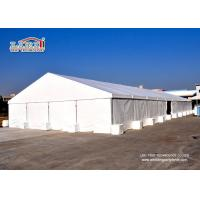 Quality 1000 Square meter White color Solid Large Aluminum Party Tents Warehouse Outdoor for sale
