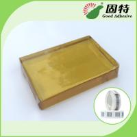 Quality PSA  Tape For Paper Label , Yellow And Transparent Block hotmelt adhesive glue for sale