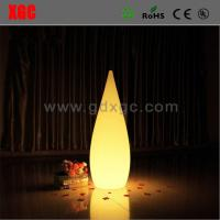 Buy cheap Plastic Made Water Drop Shape Glowing Light For Living Room from wholesalers