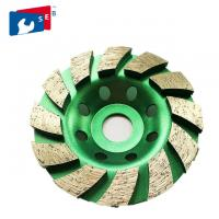 Quality 180mm Diamond Cup Wheel with Alloy Body for Marble Concrete Granite for sale
