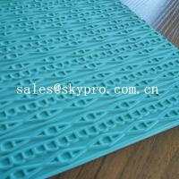 Quality Customized eva+ rubber foam sheet for sole soft  with 3D pattern for sale