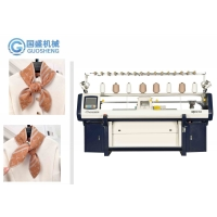 Quality High Capacity Double Knitting System Jacquard Sweater Machine For Polyester for sale