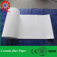 Quality 1260C Refractory aluminum silicate fiber cotton paper for sale