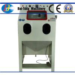 Iron Steel / Plastic Products Industrial Sandblast Cabinet 200kg Net Weight