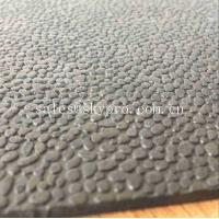 Buy Heavy Duty Orange Peel Rubber Mats Leather Pattern Rubber Floor Matting at wholesale prices