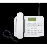 Quality LTE FKT - 4 4G Fixed Wireless Phone White 4G Feature Phone With 1000mA Battery for sale