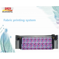 Quality SAER Digital fabric printing machine with hige resolution low price / Flag printing machine for sale