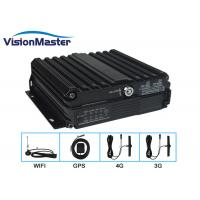 China SD Card 720p 4 Channel Car DVR Recorder High Definition Linux Operating System on sale