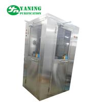 Quality L Type Door Corner Stainless Steel Air Shower Customize Size Easy To Clean for sale