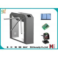 Quality RFID Turnstile Security Systems, Barcode Reader Tripod Turnstiles Gate for sale