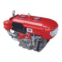 Quality L120 4 Stroke Diesel Crate Engines , Water Cooled Small Single Cylinder Diesel Engine 15hp for sale